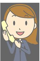 telephon-lady